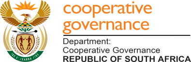 Image result for Department of Cooperative Governance